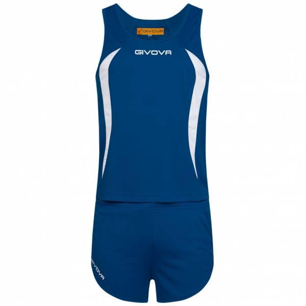 Givova Kit Boston Leichtathletik Set Singlet + Short KITA02-0203