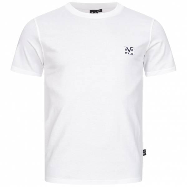 19V69 Versace 1969 Basic Herren T-Shirt VI20SS0007A weiß