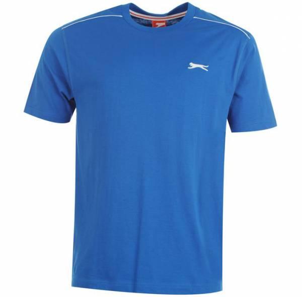 Slazenger Herren Rundhals T-Shirt blau