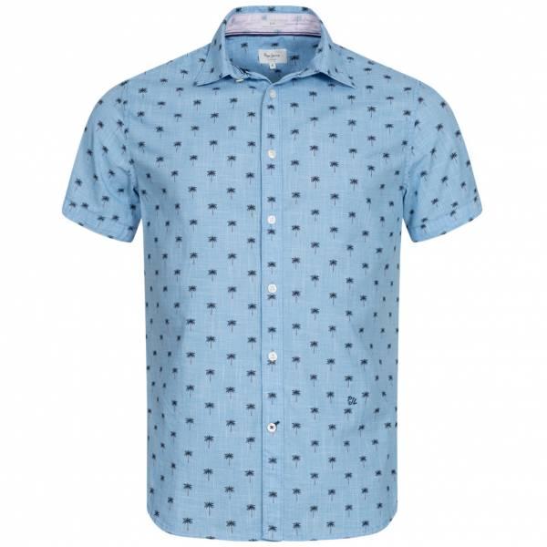 Pepe Jeans Trace Mężczyźni Koszula z krótkim rękawem PM305851-526