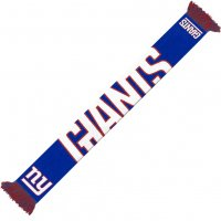 New York Giants NFL Scarf Wordmark Fan Schal SVNF14WMNGAM