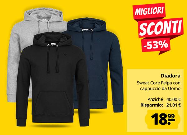 NUOVA linea uomo giacca ADIDAS zip Felpa Con Cappuccio Felpa Con Cappuccio Felpa Maglione Con Cappuccio Maglione