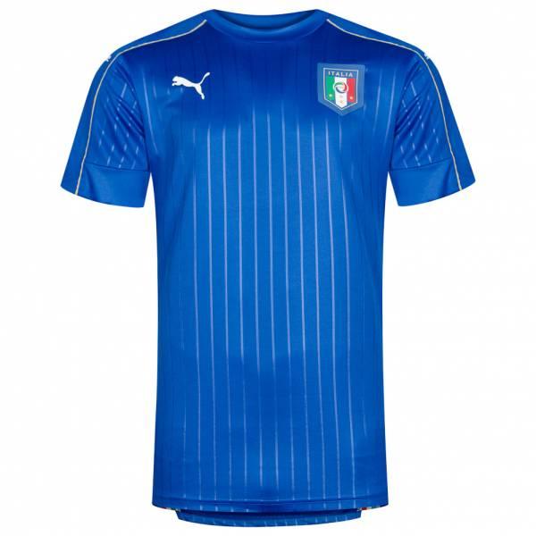 Italien PUMA Herren Player Issue Spieler Trikot 748810-01