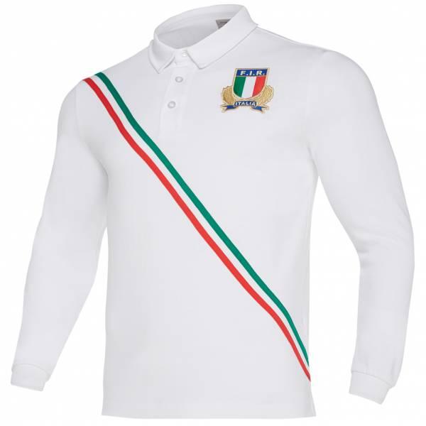 Italien FIR macron Herren Heim Langarm Trikot 58100161