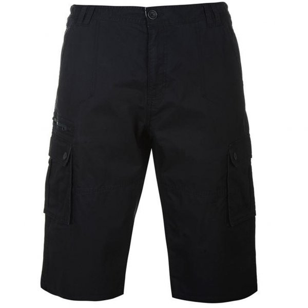 Pierre Cardin 3/4 Hose Cargo Short Black 512010