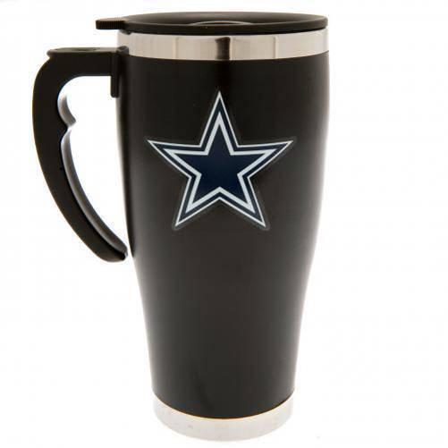 Dallas Cowboys NFL Foil Print Travel Mug Thermo Mug MGNFLTRAVDC