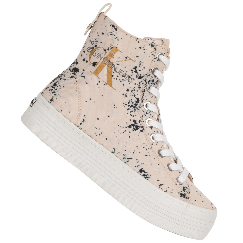 Calvin Klein Jeans Zazah Damen Plateau Sneaker RE9792PNK