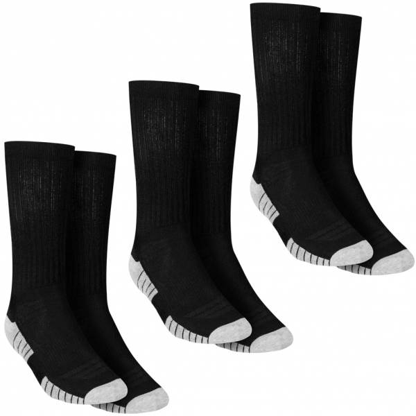Under Armour HeatGear Tech 3-er Pack Crew Socken 1303206-001