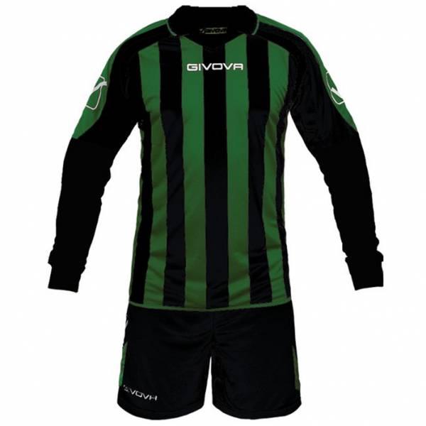 Givova Kit Rumor Fußball Set Langarm Trikot + Short KITC25-1013