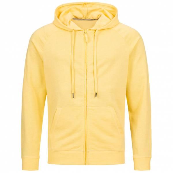 RUSSELL Full Zip Herren Kapuzen Sweatjacke 0R284M0-Yellow-Marl