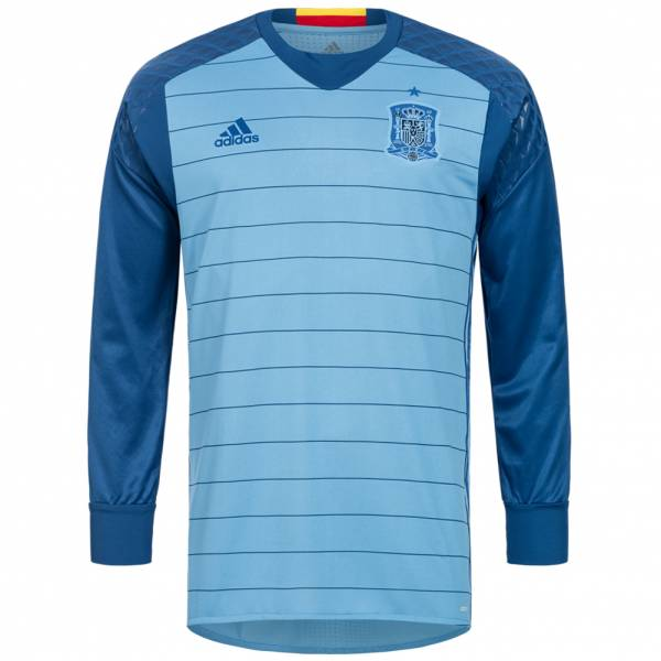 Spanje adidas Heren Thuis keepersshirt met lange mouw Player Issue AA0795