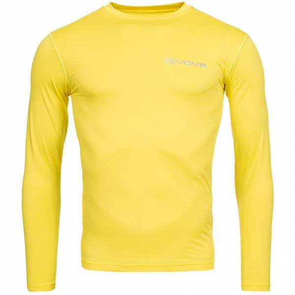 "Givova Baselayer Top Sports Top ""Corpus 3"" yellow"