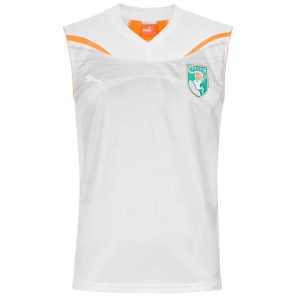 Elfenbeinküste PUMA Herren Trainings Tank-Top Trikot 736915-14