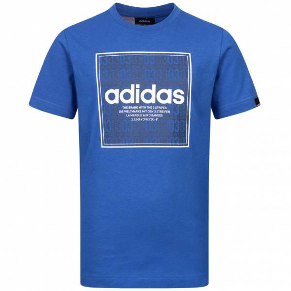 adidas QQR Box Linear Jungen T-Shirt GE5964