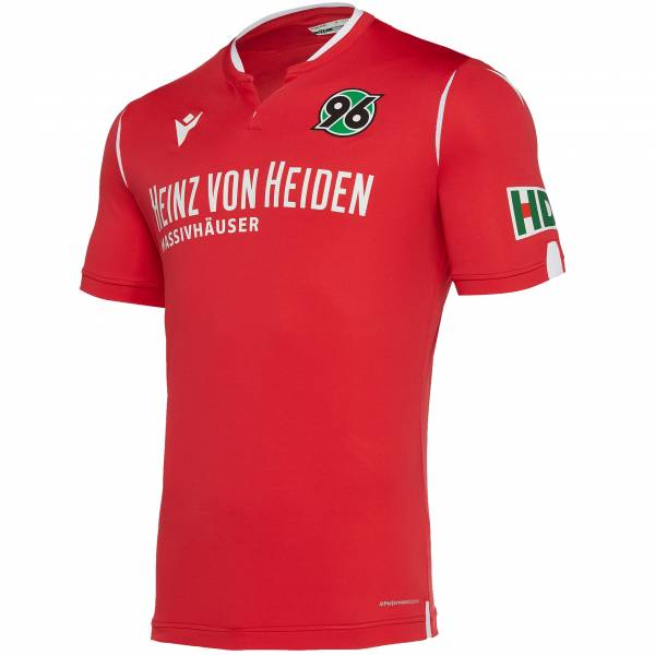 Hannover 96 macron Authentic Herren Heim Trikot 58014371