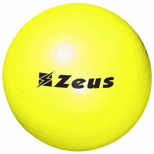 Zeus Gym Yoga Fitness Gymnastikball 75cm gelb