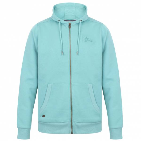 Tokyo Laundry Lollard Full Zip Hoodie Kapuzen Sweatshirt 1E10461 Dark Mint