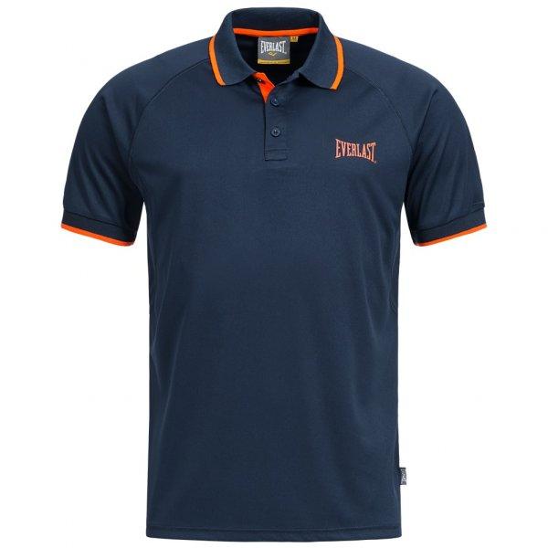 Everlast Polo-Shirt navy/orange EVR9703