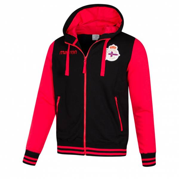 Deportivo La Coruna macron Herren Kapuzen Sweatshirt 58027043
