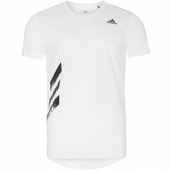 adidas Run It 3 Stripes Herren Laufshirt FR8381