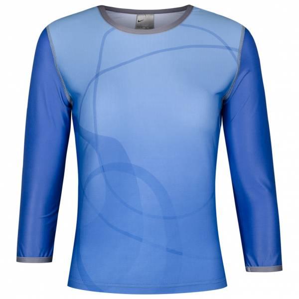 Nike Print Damen Sport Langarm Shirt 270888-449