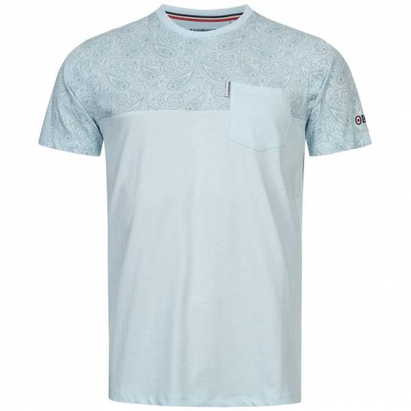 Lambretta Panel Herren T-Shirt SS5183-COOL BLUE