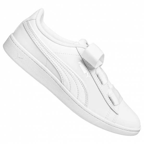 PUMA Vikky Ribbon Satin Kids Leather Sneaker 369543-02