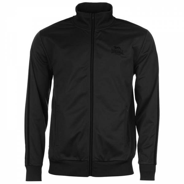 Lonsdale Men's Track Top Jacket Dark Gray