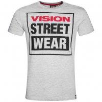 Vision Street Wear Herren Crew T-Shirt CM0245 grau