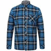 Tokyo Laundry Dieppe Flannel Men Checked Shirt 1H10619 Blue