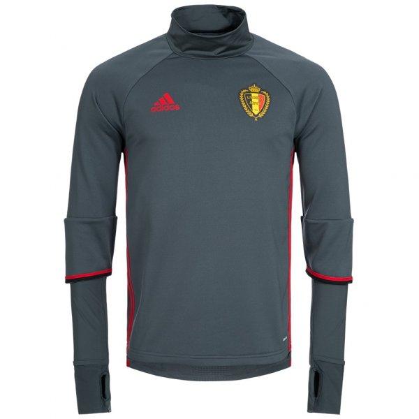 Belgien adidas Herren Trainings Sweatshirt Oberteil AC5771