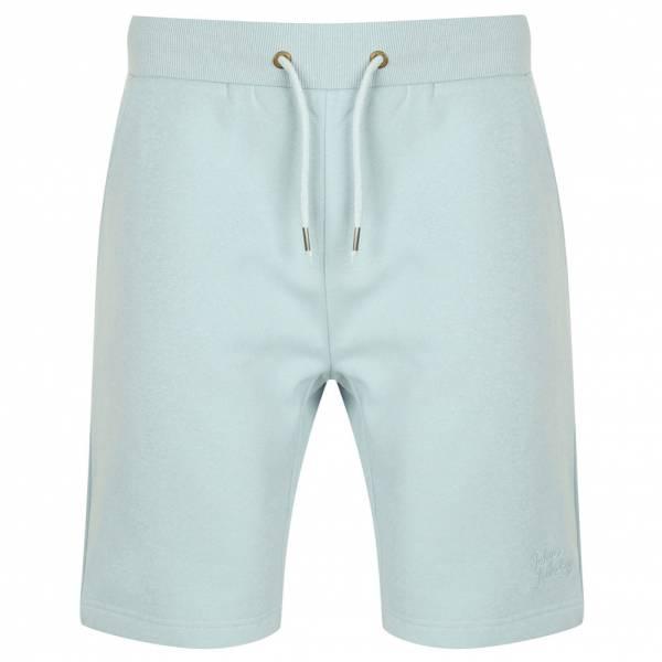 Tokyo Laundry Falcon Herren Fleece Jogger Shorts 1G10465 Angel Falls