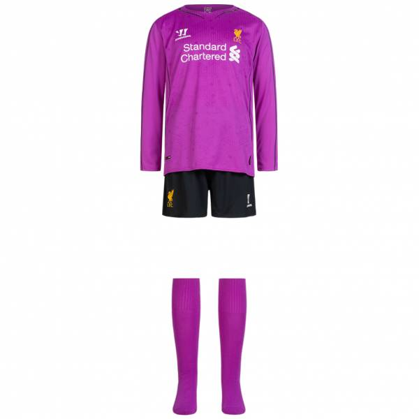 Liverpool FC Warrior Boy Home Goalkeeper Kit WSTI401-PCF