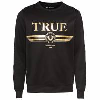 True Religion True Retro Crew Neck Herren Sweatshirt M19HF53N7G-1001