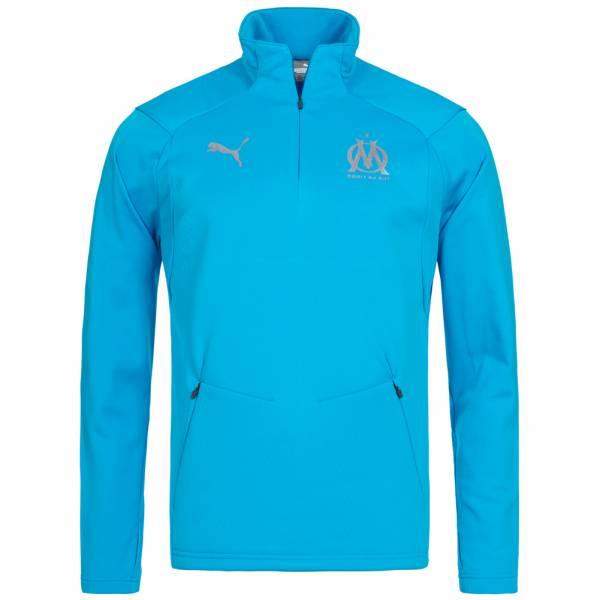 Olympique Marseille PUMA Fleece 1/4 Zip Top para hombre 753989-03