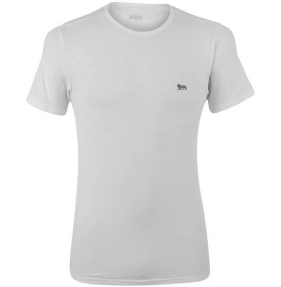 Lonsdale Herren Unterhemd weiß Kurzarm