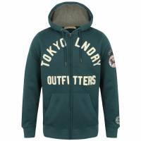 Tokyo Laundry Mount Chippewa Full Zip Herren Hoody 1E9597 Teal