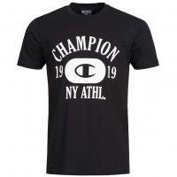 Champion Crew Neck Tee Herren T-Shirt schwarz