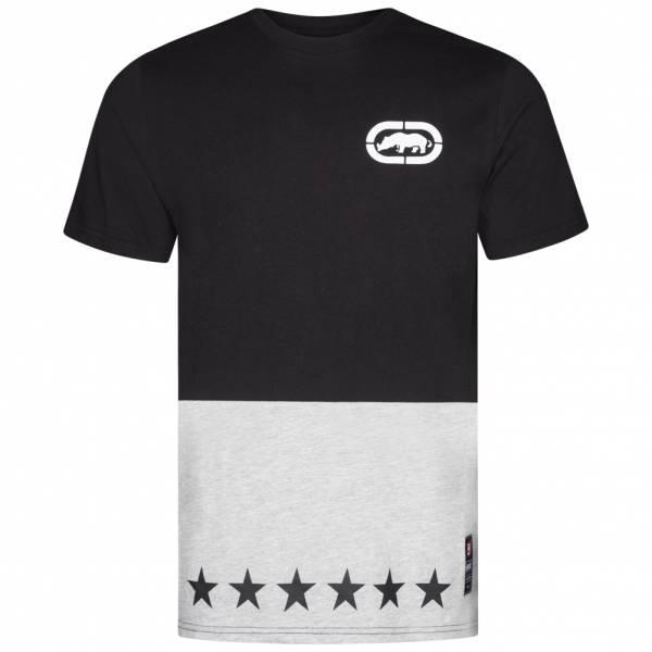 Ecko Unltd. Star Contrast Tee Herren T-Shirt ESK4375 Black