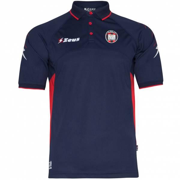FC Crotone Zeus Herren Freizeit Fan Polo-Shirt