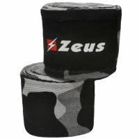 Zeus Venda de boxeo gris / camuflaje