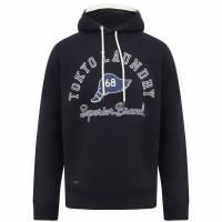 Tokyo Laundry Nocona Herren Kapuzen Sweatshirt 1D13724 Navy