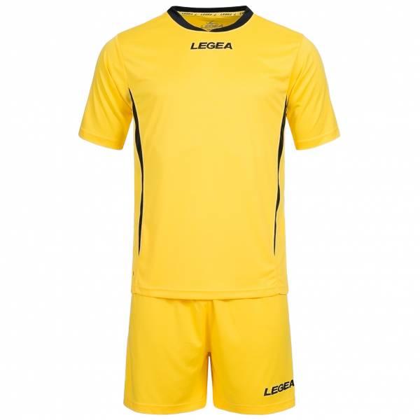 Legea maillot de foot maillot avec short jaune