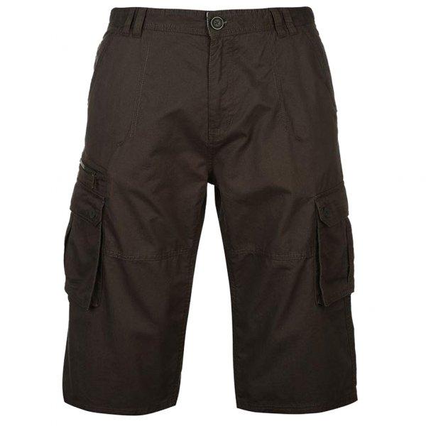 Pierre Cardin 3/4 Hose Cargo Short Charcoal 512010