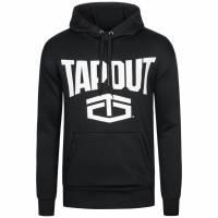 Tapout Classic Kapuzen Sweatshirt Hoody schwarz