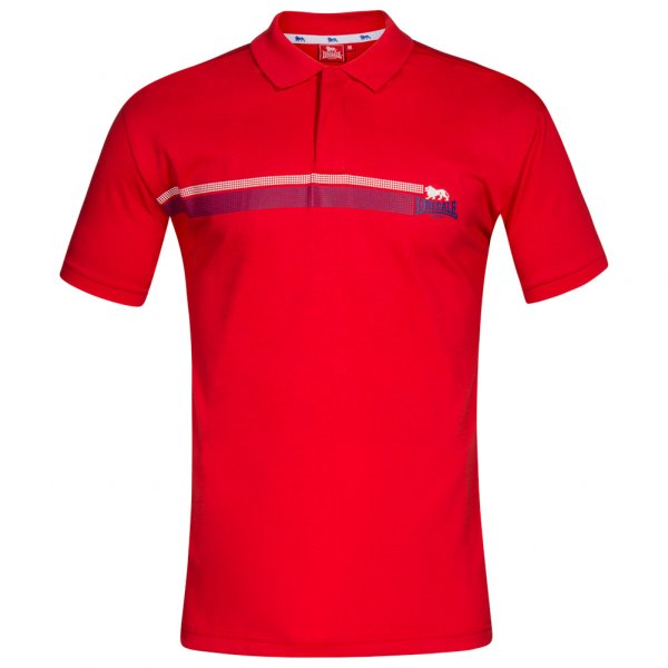 Lonsdale London Herren Polo-Shirt rot