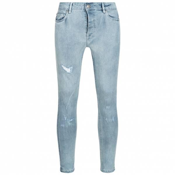 BRAVE SOUL Sampson Bleached Uomo Strappato Jeans MJN-SAMPSON