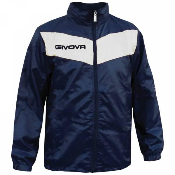 """Givova Rain Jacket """"Rain Scudo"""" navy / white"""