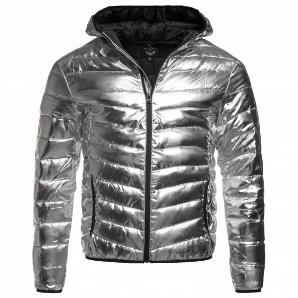 85fb5ba69f04 BRAVE SOUL Grant Reflective Panel Buffer Puffer Jacket MJK-GRANTMETALIC  Silver ...