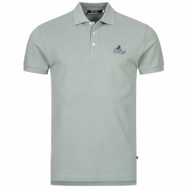 Lois Jeans Herren Polo-Shirt 4E-LPSM-Light Grey